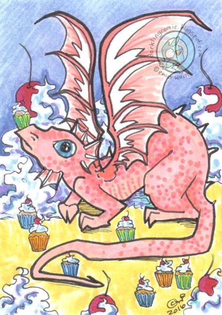 Art: Sugar Pie Dragon by Artist Emily J White