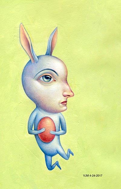 Art: Hop by Artist Valerie Jeanne
