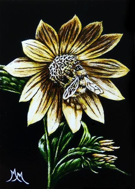 Art: Symbiotic  (SOLD) by Artist Monique Morin Matson