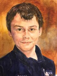 Art: Daniel by Artist Catherine Darling Hostetter