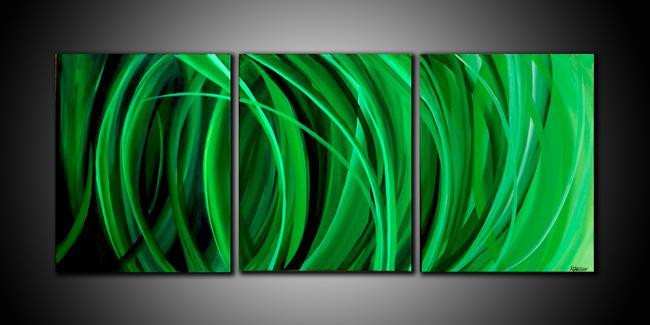 Art: GRASS GREEN by Artist Kate Challinor