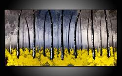 Art: YELLOW WOOD by Artist Kate Challinor