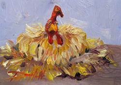 Art: Big Fat Hen by Artist Delilah Smith