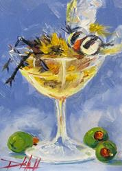 Art: Put a Little Sting in Your Martini by Artist Delilah Smith