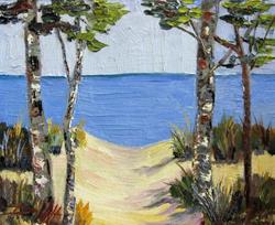 Art: Path to the Beach by Artist Delilah Smith