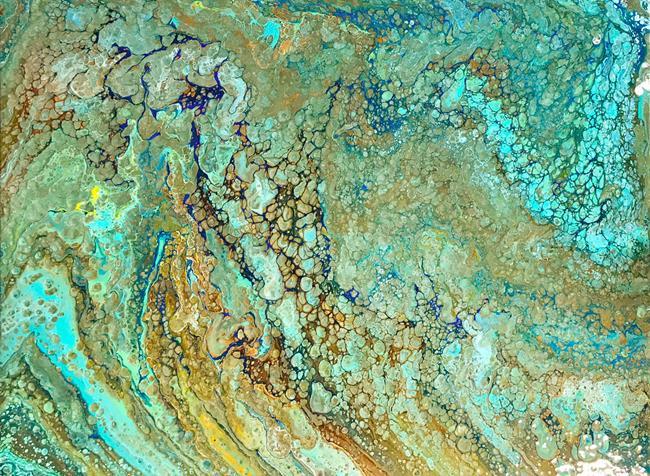 Art: Rushing Waters by Artist Ulrike 'Ricky' Martin