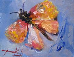 Art: Spanish Moth by Artist Delilah Smith