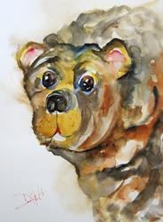 Art: Brown Bear by Artist Delilah Smith