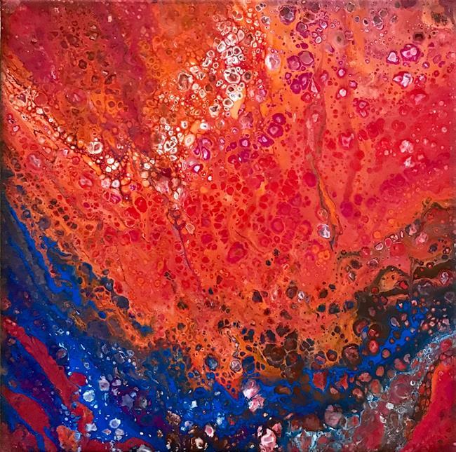 Art: Firestorm by Artist Ulrike 'Ricky' Martin
