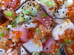 Art: Chirashi Sushi 2 by Artist Deanne Flouton