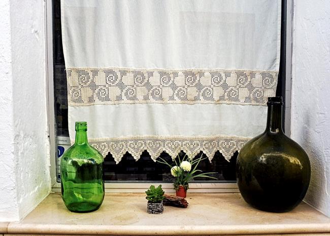 Art: Window Decor by Artist Deanne Flouton