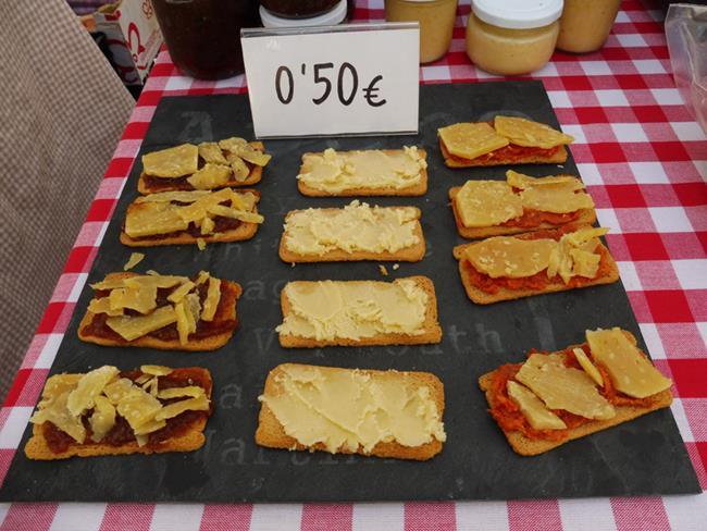 Art: Cheese Tapas by Artist Deanne Flouton