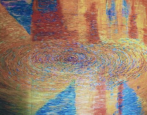 Art: Ripples of Water Heavenly Eternity by Artist Rossi Kelton