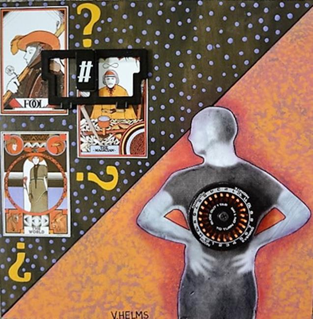 Art: The Cards You're Dealt by Artist Vicky Helms