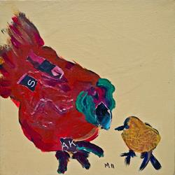Art: Chicken 04 by Artist Gabriele M.