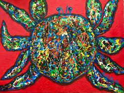 Art: Crab Salad  - Sold by Artist Ulrike 'Ricky' Martin