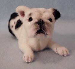 Art: Babe Custom Dog by Artist Camille Meeker Turner