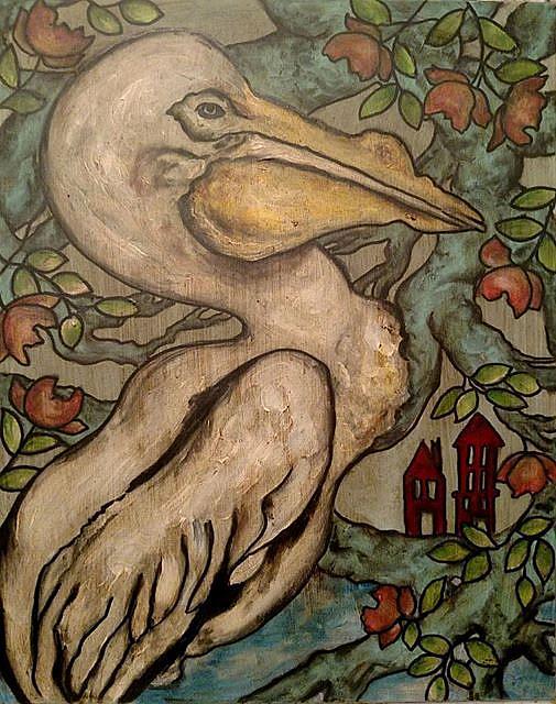 Art: Going Home by Artist Chris Jeanguenat