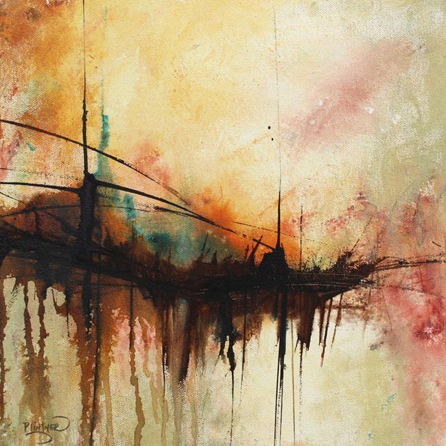 Art: Whispering Bridge by Artist Patricia Lintner