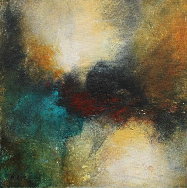 Art: Like Thoughts Inside a Dream by Artist Patricia Lintner