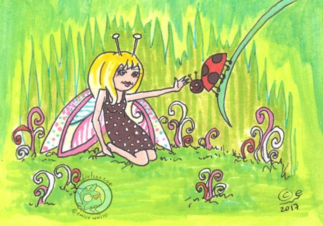 Art: Ladies by Artist Emily J White