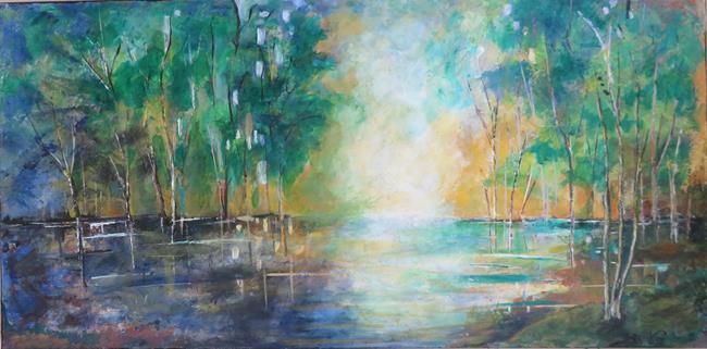 Art: landscape 001 by Artist MarikasPaintings