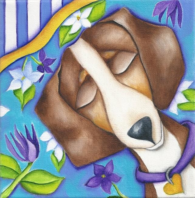 Art: HAPPY DREAMS by Artist Deb Harvey