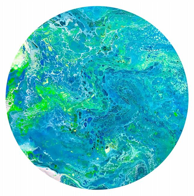 Art: Planet 7 by Artist Ulrike 'Ricky' Martin