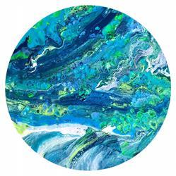 Art: Waterworld by Artist Ulrike 'Ricky' Martin