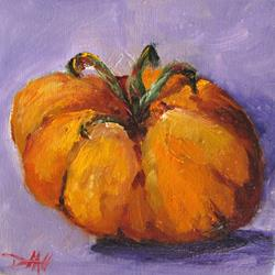 Art: Yellow Heirloom Tomato by Artist Delilah Smith