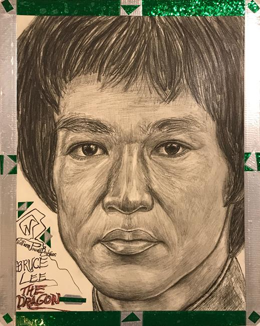 Art: ~.Master Bruce Lee.~ by Artist William Powell Brukner