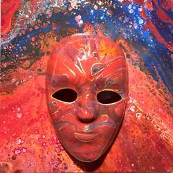 Art: Masquerade by Artist Ulrike 'Ricky' Martin