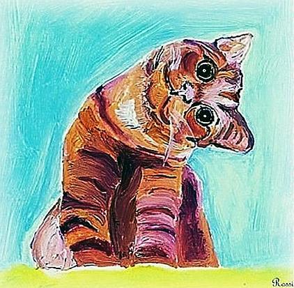 Art: I can see you sideways by Artist Rossi Kelton