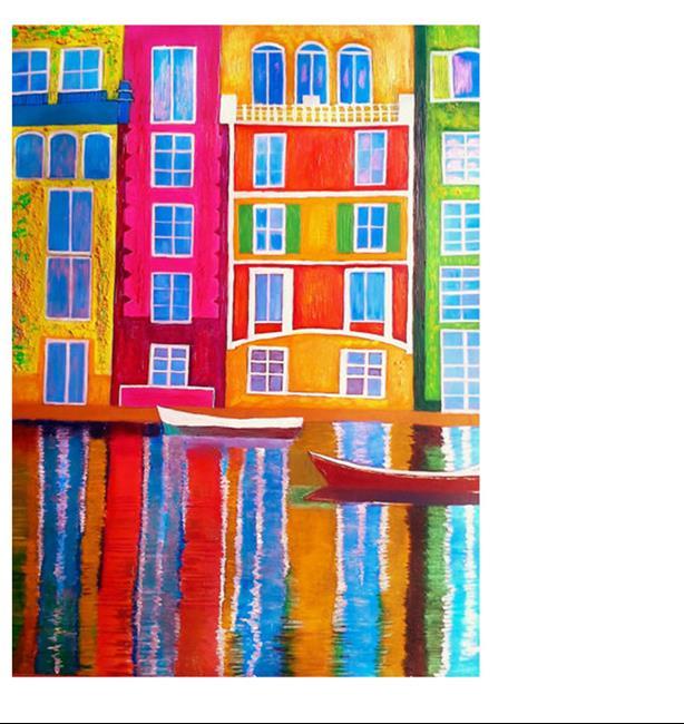 Art: Portofino Sailing 052017 by Artist Rossi Kelton