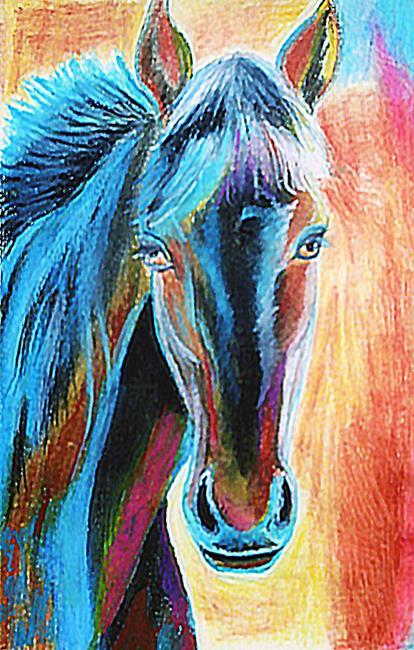 Art: Horse1 by Artist Rossi Kelton