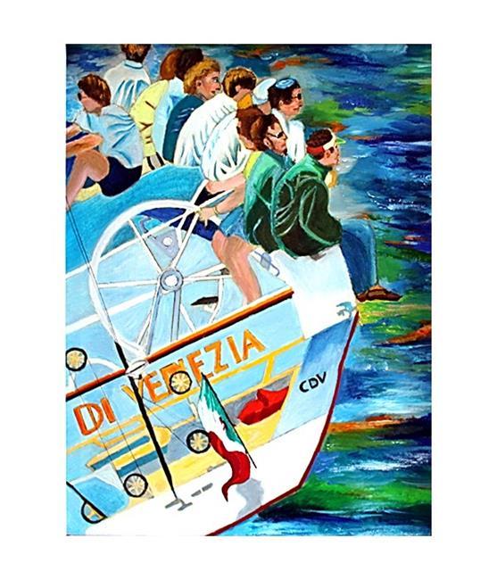 Art: Moro di Venezia by Artist Rossi Kelton