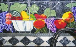 Art: fruits by Artist Rossana Kelton fine artist