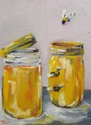 Art: Honey Thief by Artist Delilah Smith