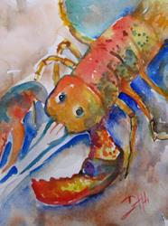 Art: Lobster No. 6 by Artist Delilah Smith