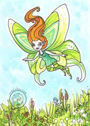 Art: Luna Bird by Artist Emily J White