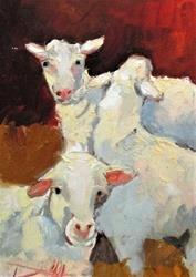 Art: Sheep No.9 by Artist Delilah Smith