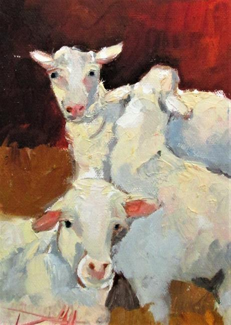 Art: Sheep No.9 by Artist Delilah Smith