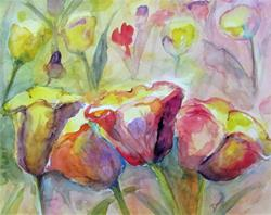 Art: Tulips No.4 by Artist Delilah Smith