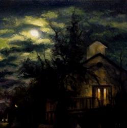 Art: Anglican Church by Artist Christine E. S. Code ~CES~