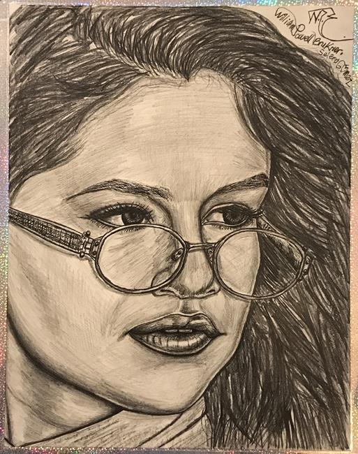 Art: ~.SELENA-GORGEOUS-GOMEZ.~ by Artist William Powell Brukner