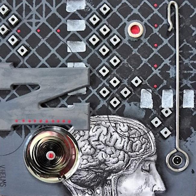 Art: Introspection by Artist Vicky Helms