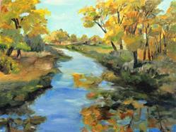 Art: Joyful Stream by Artist Delilah Smith