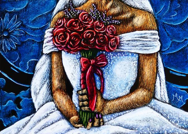 Art: June Bride  (SOLD) by Artist Monique Morin Matson