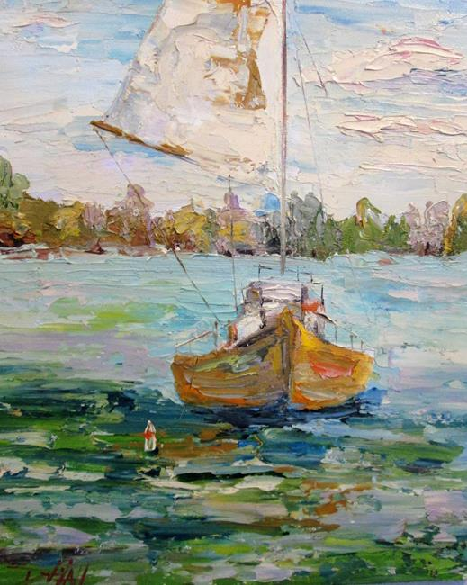 Art: Sail Away with Me by Artist Delilah Smith