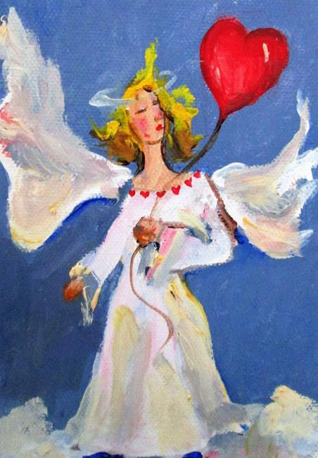 Art: Valentine Angle by Artist Delilah Smith